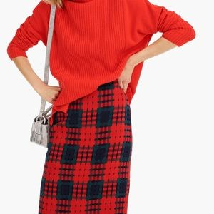 Jcrew: holiday lattice pencil skirt
